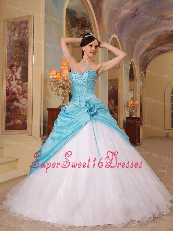 Aqua Blue Sweet Sixteen Dresses,Aqua Blue Dress for Sweet 16 Party