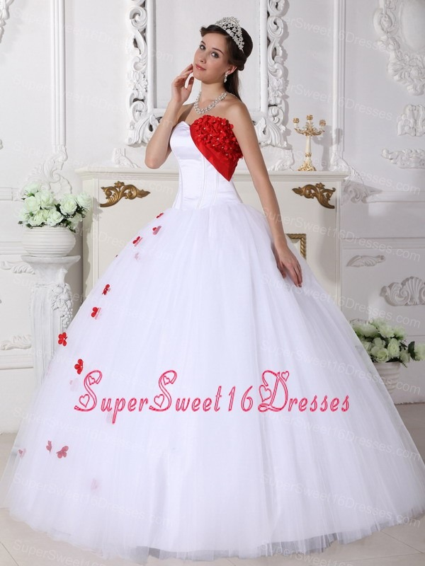 White Sweet Sixteen Dresses,White Dress for Sweet 16 Party
