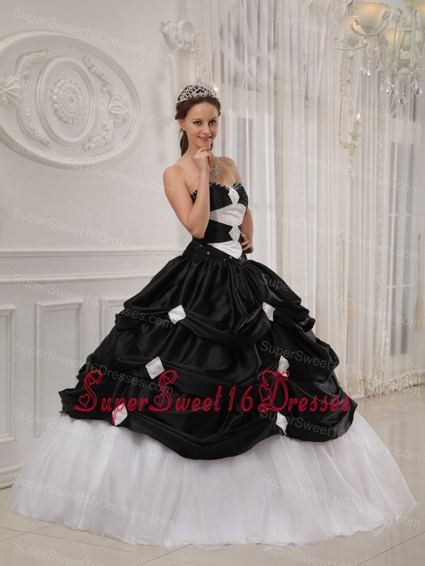 Js gowns black and white dresses