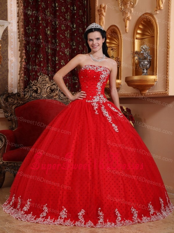Red Sweet Sixteen Dresses,Red Dress for Sweet 16 Party