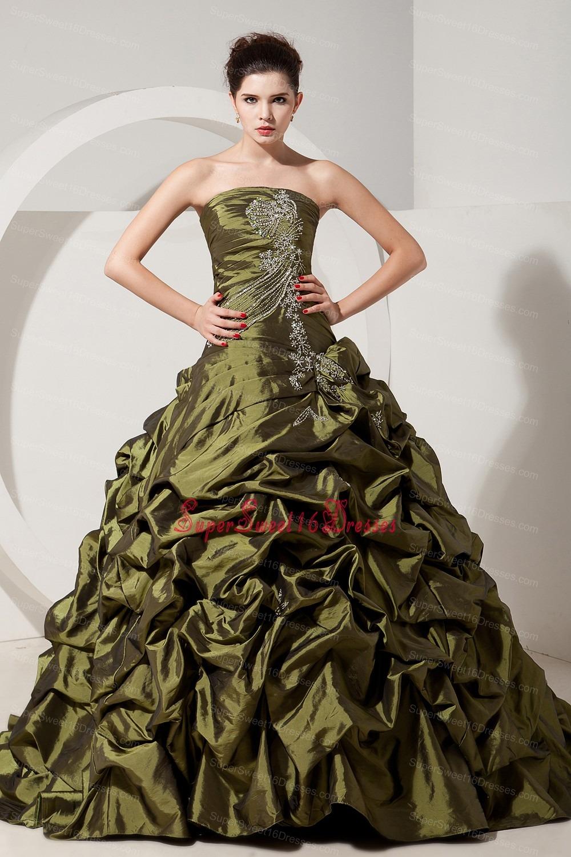 Olive Green Dress Olive Green Princess