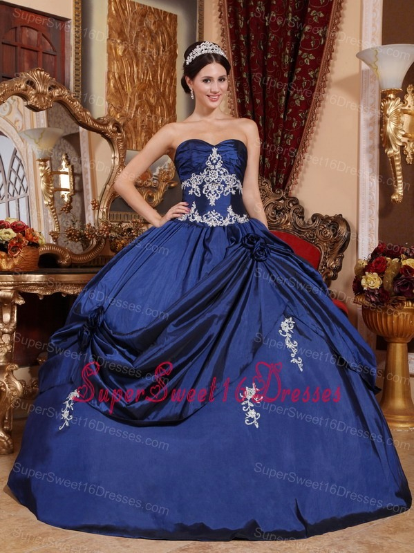 Navy Blue Sweet Sixteen Dresses,Navy Blue Dress for Sweet 16 Party