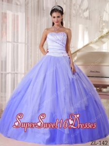 White And Purple Sweet Sixteen Dresses,White And Purple Dress for ...