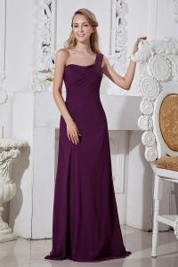 Purple  Shoulder Dress on Dark Purple Sweet Sixteen Dresses Dark Purple Dress For Sweet 16 Party