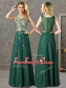 Dark Green Sweet Sixteen Dresses,Dark Green Dress for Sweet 16 Party