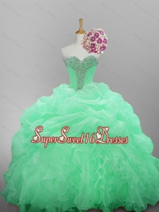 2015 Romantic Sweetheart Camo Prom Dresses with Beading and Ruffled Layers