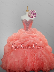 Discount Ball Gown Sweetheart Quinceanera Dresses for 2015 Summer