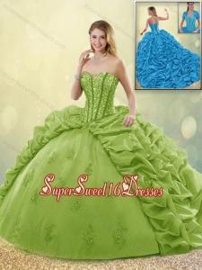 Green Sweet 16 Dress