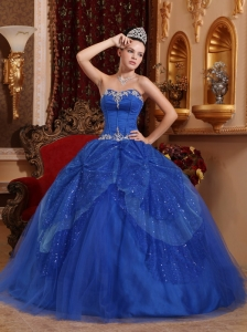 Royal Blue Sweet Sixteen Dresses,Royal Blue Dress for Sweet 16 Party