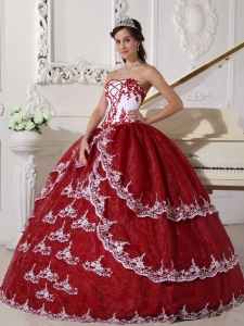 Wine Red Sweet Sixteen Dresses,Wine Red Dress for Sweet 16 Party